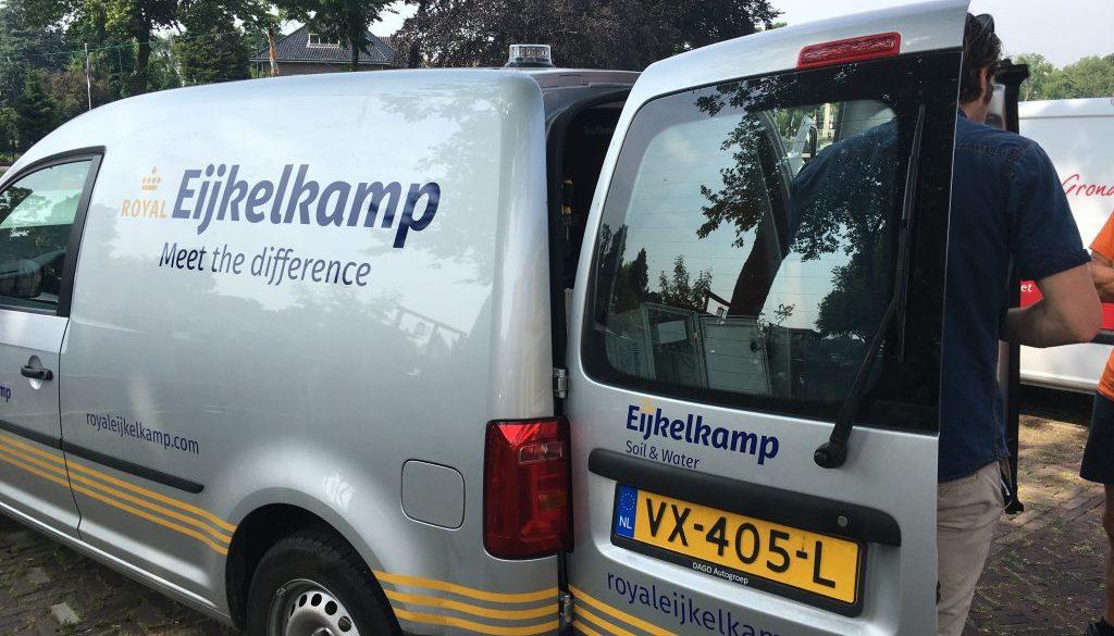 Meetboei firma Eijkelkamp