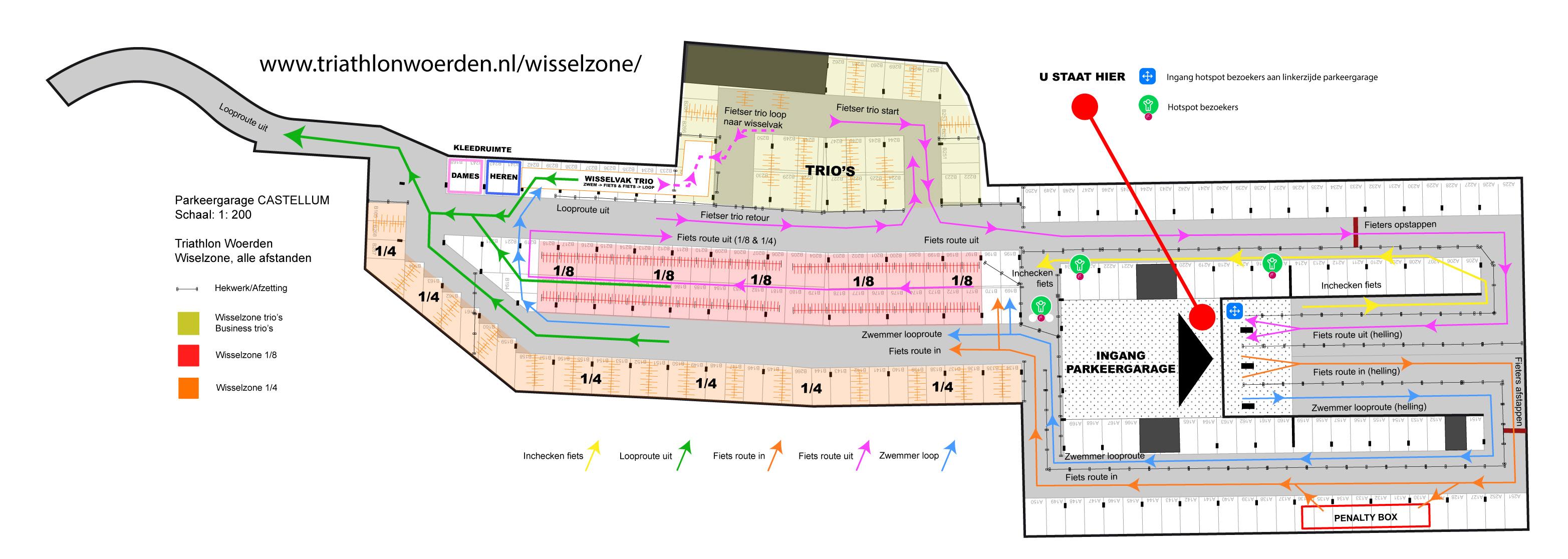Wisselzone Parkeergarage Castellum